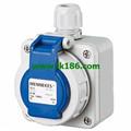 MennekesWall mounted receptacle SCHUKO 10863
