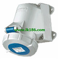 MennekesWall mounted receptacle with TwinCONTACT 241