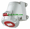 MennekesWall mounted receptacle with TwinCONTACT 242