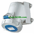 MennekesWall mounted receptacle with TwinCONTACT 243