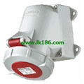 MennekesWall mounted receptacle with TwinCONTACT 245
